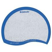 Коврик для мыши Defender Ergo opti-laser Blue (50513), код 16166 фото