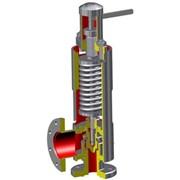 Клапан предохранительный пружинный с демпфером фото