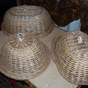 Хлебница- плетеная фото