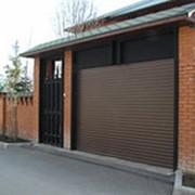 Ворота теплые в гараж под ключ фото