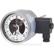 Биметаллический термометр с электроконтактами Модель 55-8xx фото