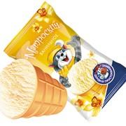 Мороженое вафельный стаканчик Матроскин ванильный фото