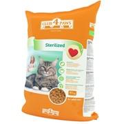 Сухой корм для кастрированных котов и стерилизованных кошек 11 кг - Клуб 4 лапы фото