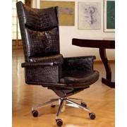 Кресло руководителя PLANET, кресло кожаное. фото