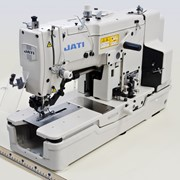 Швейная машина полуавтомат петельный челночного стежка для обметывания прямых петель JATI JT-T781 фото