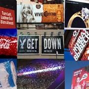 Установка билбордов, баннеров, брандмауэров с новейшей технологией живой рекламы фото