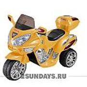 Детский электромотоцикл МОТО HJ 9888 желтый