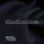 Ткань Трехникта на флисе ( темно-синий ) 5521 фото
