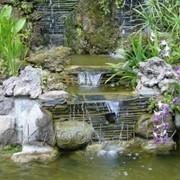 Изготовление декоративных водоемов фото