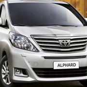 Микроавтобус Toyota Alphard фото