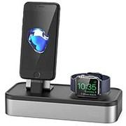 Подставка - док станция для Apple iPhone, Apple Watch из алюминия BlackMix DS-1 фото