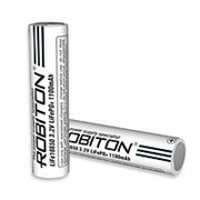 Аккумулятор Robiton LiFe18650 1100mAh с защитой фото