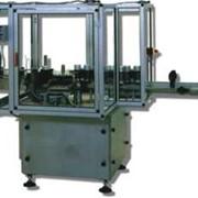 Этикеточная машина автомат для нанесения бумажной этикетки на стеклянную тару и ПЭТ бутылки фото