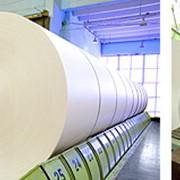 Производство газетной бумаги фото