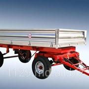 Прицеп двухосный тракторный саморазгружающийся 2-ПТС-4,5 фото