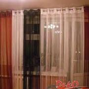 Нитевые шторы фото