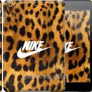 Чехол на iPad 5 Air Nike на леопардовой шкуре 3082c-26
