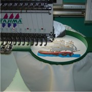 Вышивка любой фирменной символики (логотипов), художественных узоров, индивидуальная разработка узоров для вышивки. фото