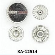 Кнопка Альфа 12,5мм, Код: КА-12514 фото
