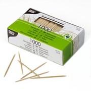 Зубочистки деревянные PAP STAR фото