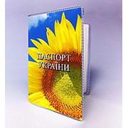 Обкладинка на паспорт соняшник фото