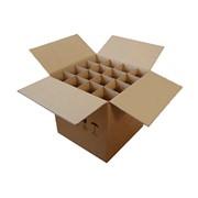 Ящик для стеклянных бутылок фото