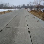 Плиты железобетонные дорожные для постоянных автомобильных дорог фото