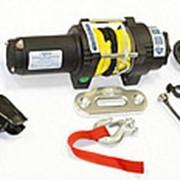 Лебедка электрическая ATV СТОКРАТ QX 3.0 S 12V 1.5 л.с. с синтетическим тросом фото