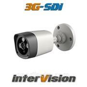 "Уличная видеокамера цифровая 3.4 Мр 3G-SDI-3400WIDE interVision 1080P ""рыбий глаз"" угол обзора 110° Ик 50 м 300107 фото"