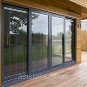 Теплые раздвижные двери SL40T фото