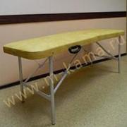 Стол массажный складной Базовый супер с вырезом 180х62 фото