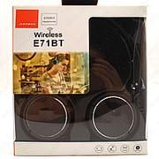 Беспроводные накладные наушники JBL E71BT (черные) фото