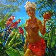 Картина ,,Принцесса джунглей,, фото