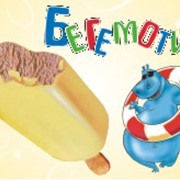 Шоколадное мороженое Бегемотик фото