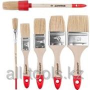 Набор Stayer Standard Universal : Кисти, светлая натур щетина, деревянная ручка, 4шт: 25, 38, 50мм- плоская Код: 0162-H4_z01 фото