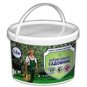 Краска для садовых деревьев Садовник в ведре1,3 кг фото