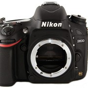 Цифровая зеркальная фотокамера D600 Body без объектива фото