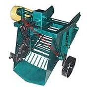 Картофелекопалка КМ-4( под вал отбора мощности) транспортерная для мотоблока фото