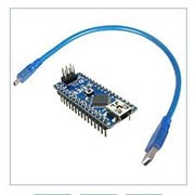 Плата Arduino Nano V3.0 ATmega328 FT232 + USB Cable фото