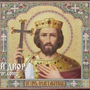 Непревзойденный Триптих Св. Царь Константин, Св. Мч. Екатерина И Александра Код товара: Оир-23 фото