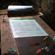 Стыковка соединение склейка конвейерных лент методом холодной вулканизации. фото