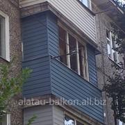 Ремонт,утепление и остекление балконов или лоджий качественно в Алматы! фото