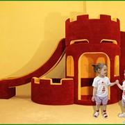 Детская мягкая мебель. Детский игровой домик. фото