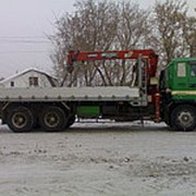 Аренда крана-манипулятора кузов от 4,8 м до 11,4 м фото