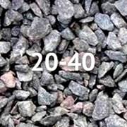 Гранитный щебень 20-40 мм фото