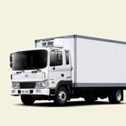Автомобили грузовые промтоварные фургоны, сэндвич-панельный фургон Hyundai HD-120l фото