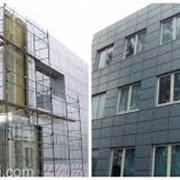 Монтаж вентилируемого фасада (вентфасада) в Бресте фото