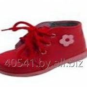 """Ботинки для девочек """"первые шаги"""" (короб 5 пар) арт.83512, ясельные фото"""