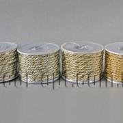 Шнур декоративный двухцветный 3мм/10ярд 005949 фото