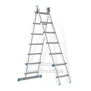 Двухсекционная промышленная лестница 2*7 Артикул 32.1486 фото